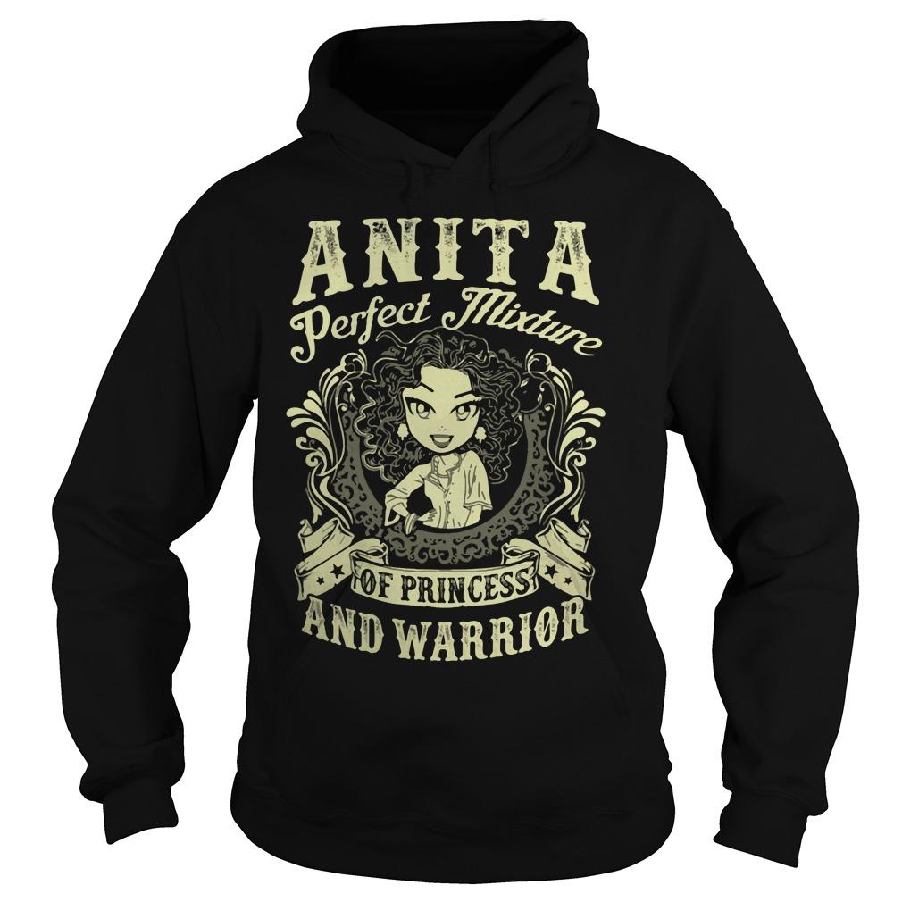 Anita Perfect Mixture Princess Warrior Hoodie