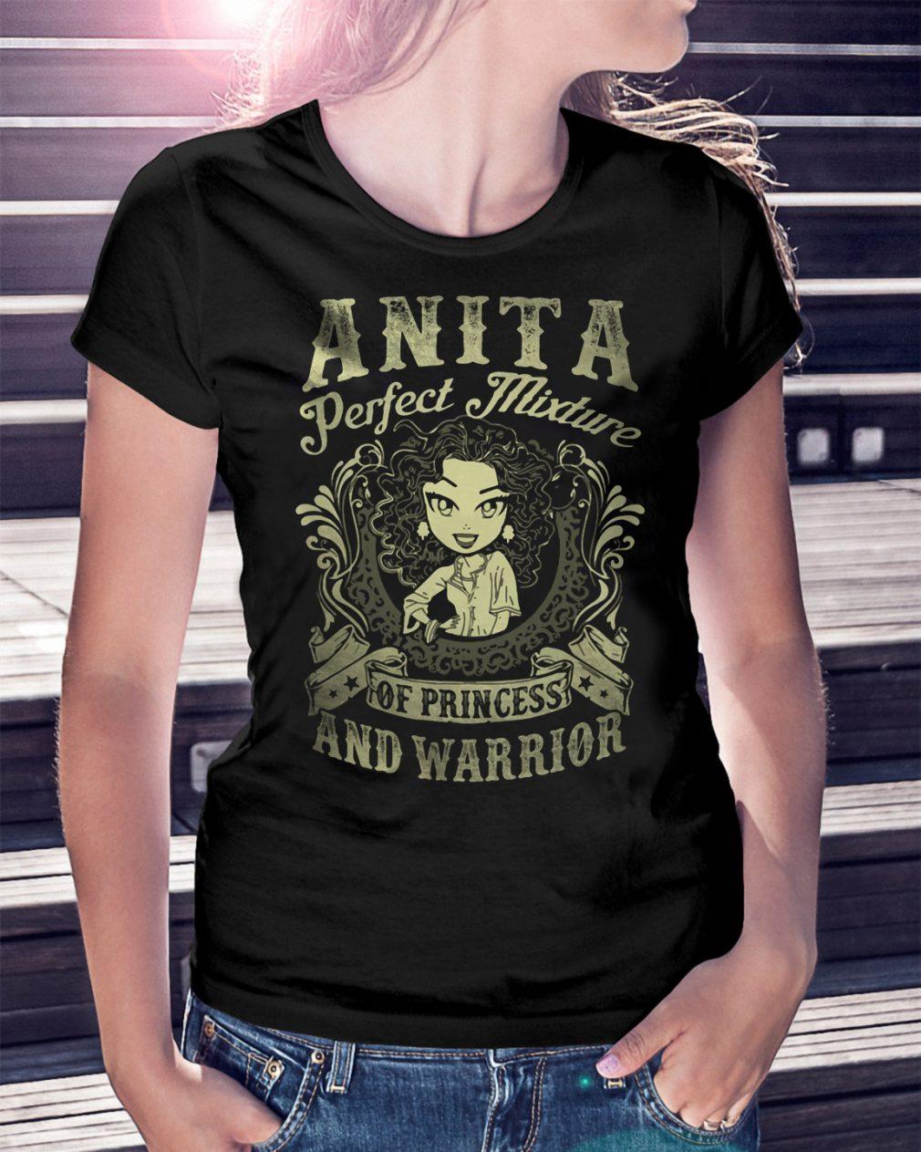 Anita Perfect Mixture Princess Warrior Shirt