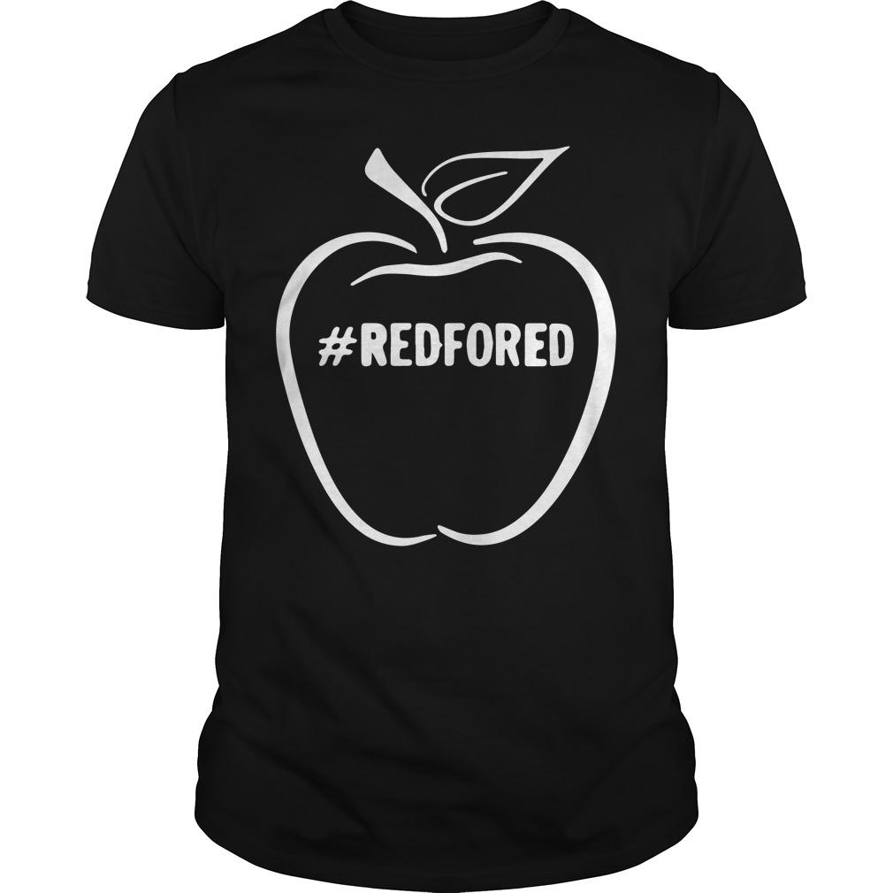 Arizona Teacher Redfored Guys Shirt