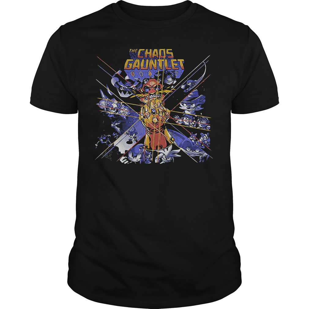 Chaos Gauntlet Guys Shirt