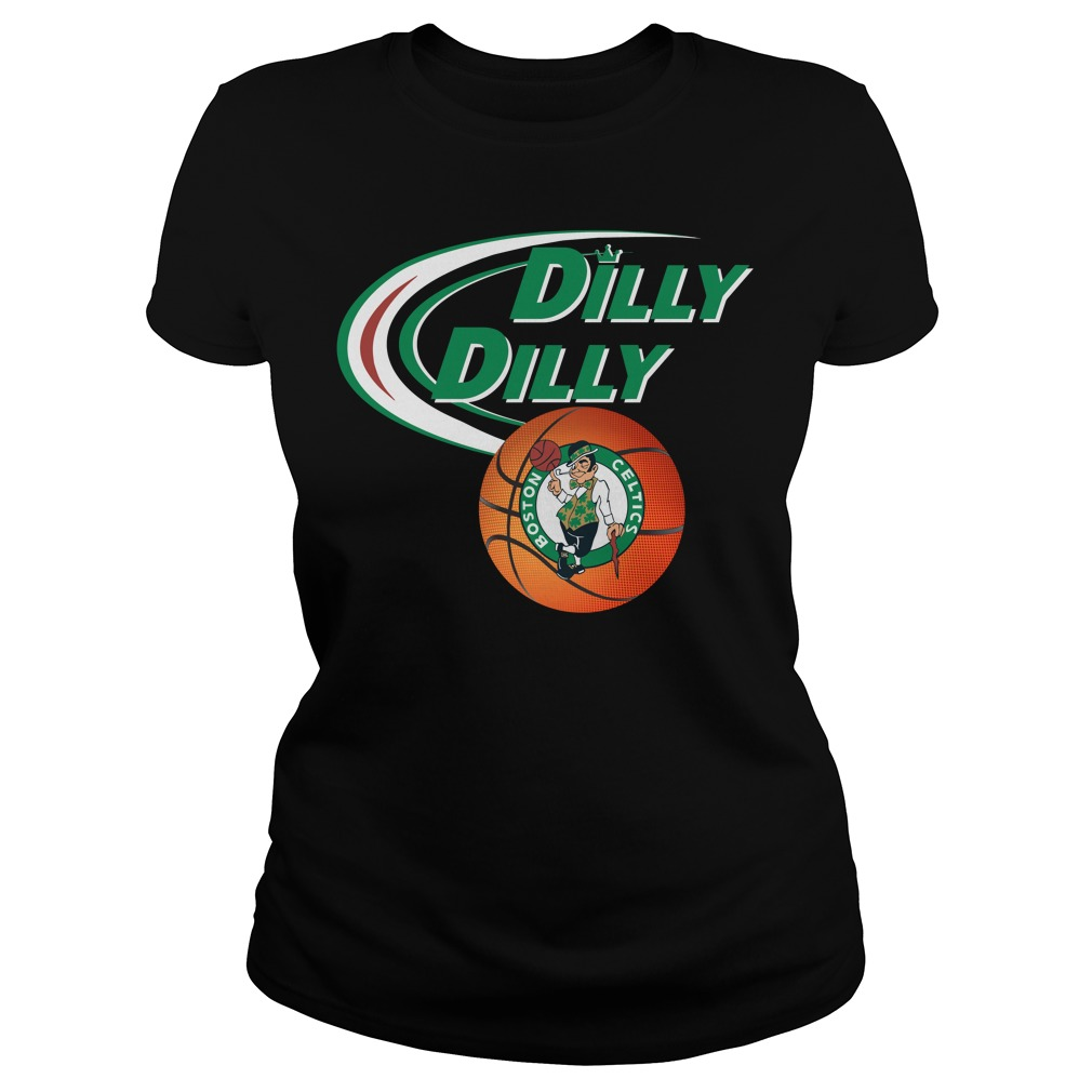 Dilly Dilly Boston Celtics Nba Basketball Ladies Tee