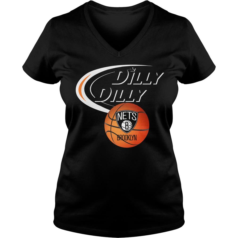 Dilly Dilly Brooklyn Nets Nba Basketball V Neck T Shirt