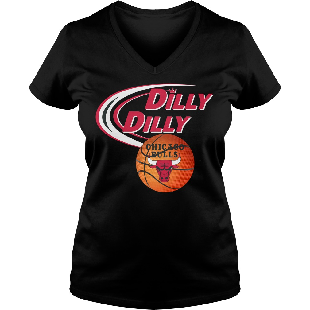 Dilly Dilly Chicago Bulls Nba Basketball V Neck T Shirt