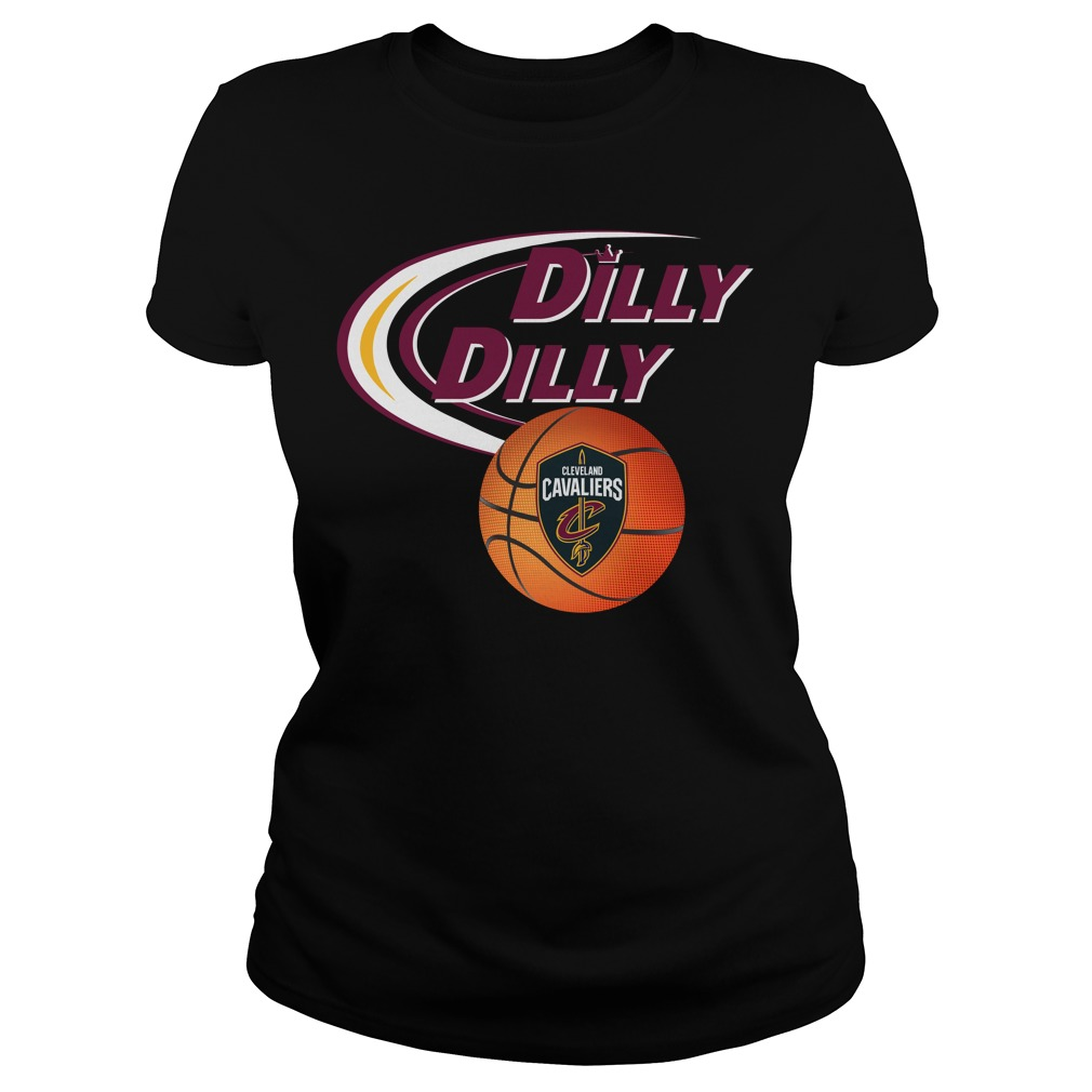 Dilly Dilly Cleveland Cavaliers Nba Basketball Ladies Tee