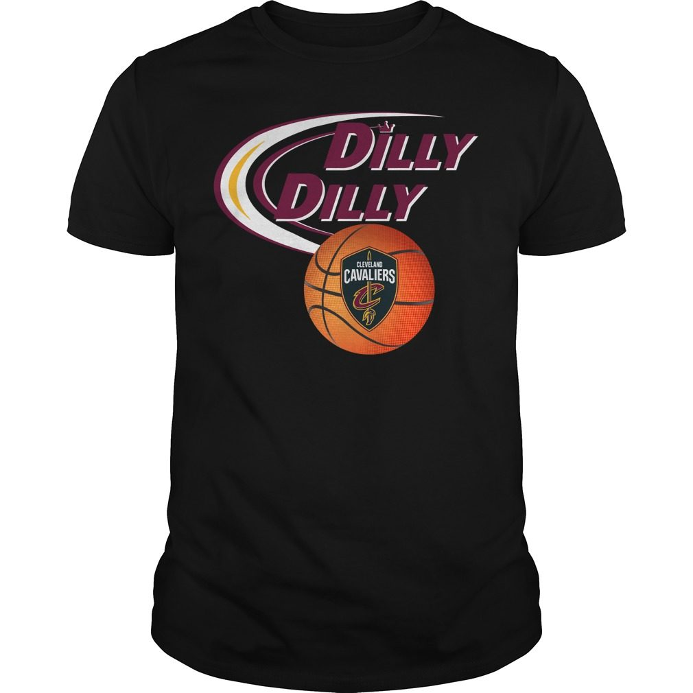 Dilly Dilly Cleveland Cavaliers Nba Basketball Shirt