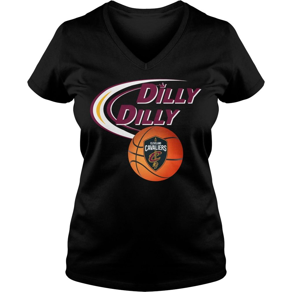 Dilly Dilly Cleveland Cavaliers Nba Basketball V Neck T Shirt