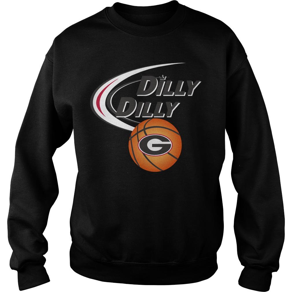 Dilly Dilly Georgia Ncaa Basketball Sweater
