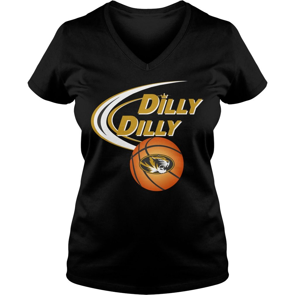 Dilly Dilly Missouri Tigers Ncaa Basketball V Neck T Shirt
