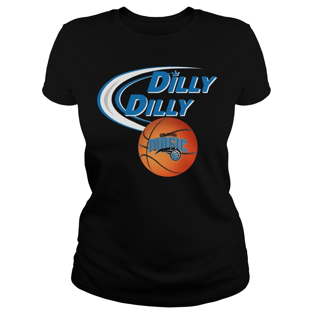 Dilly Dilly Orlando Magic Nba Basketball Ladies Tee