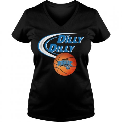 Dilly Dilly Orlando Magic Nba Basketball V Neck T Shirt