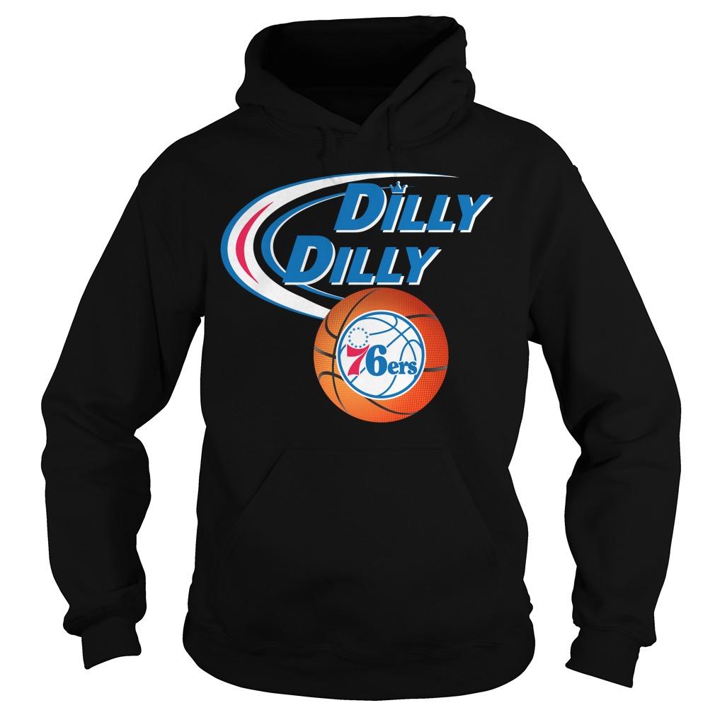 Dilly Dilly Philadelphia 76ers Nba Basketball Hoodie