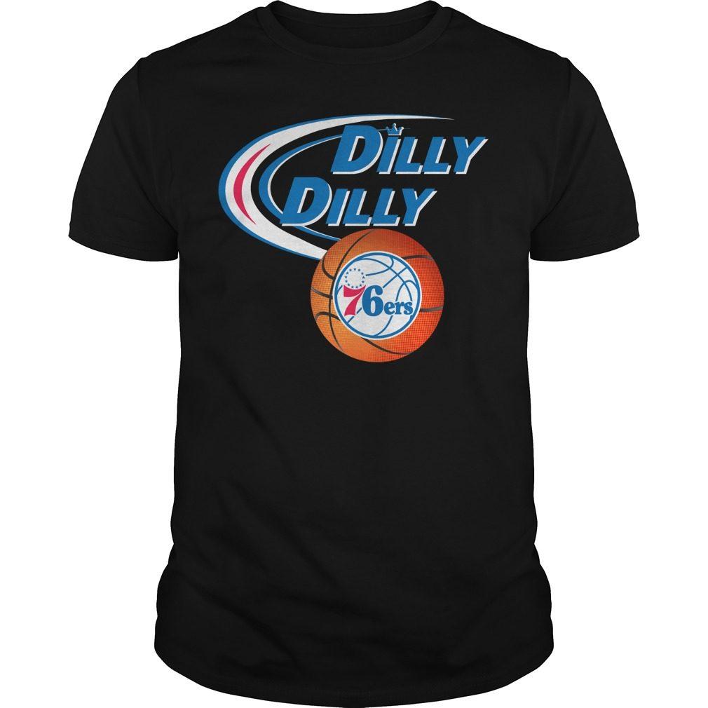 Dilly Dilly Philadelphia 76ers Nba Basketball Shirt