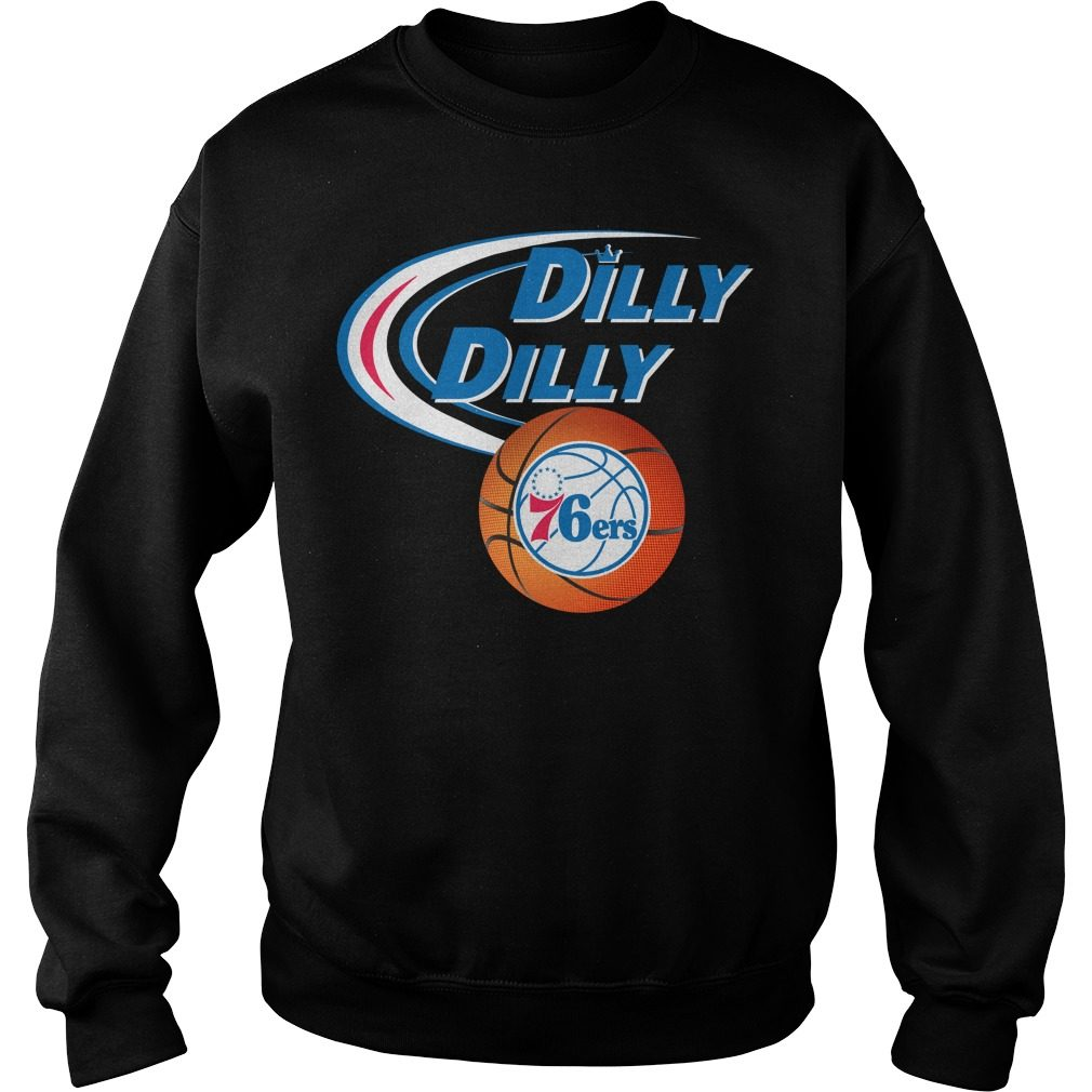 Dilly Dilly Philadelphia 76ers Nba Basketball Sweater