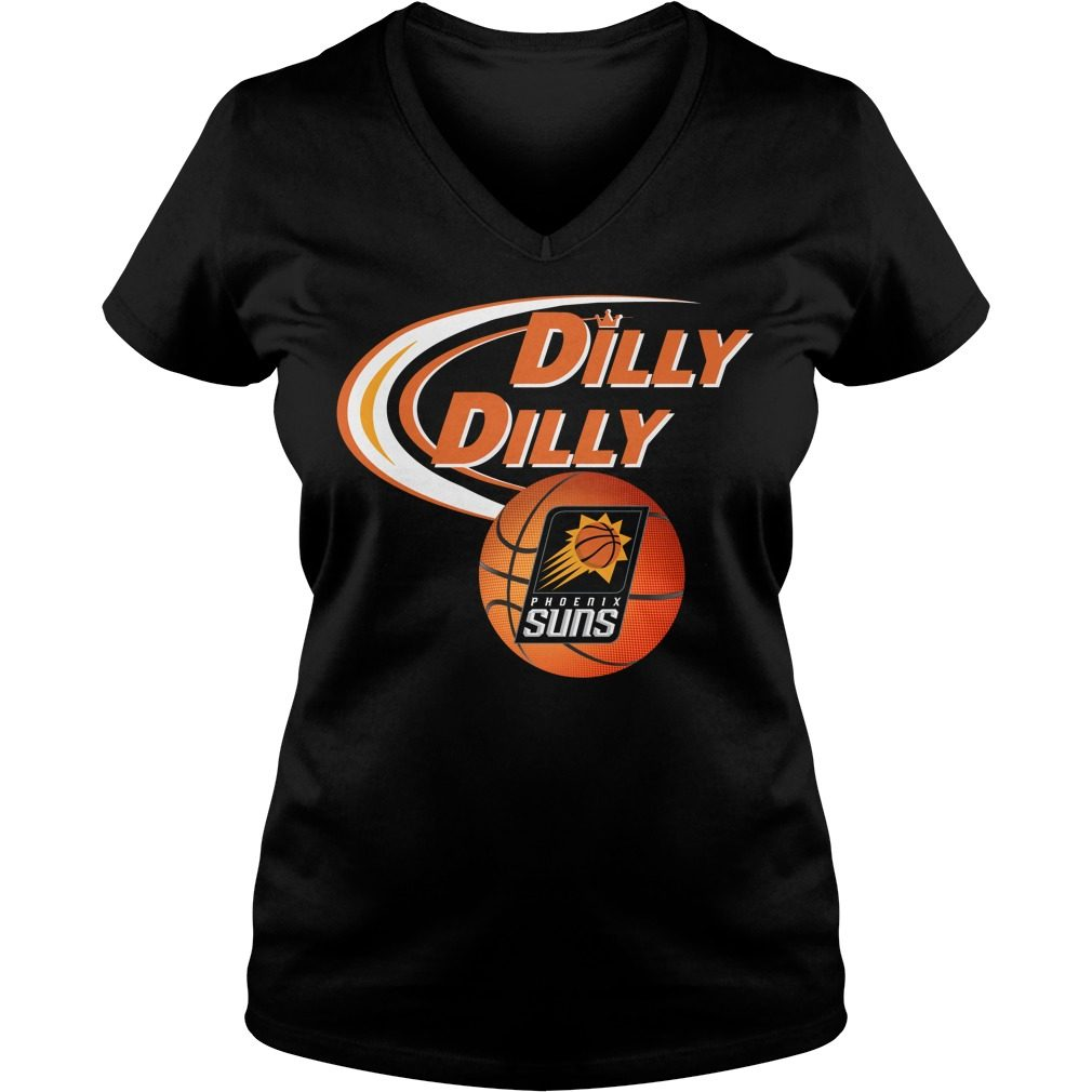 Dilly Dilly Phoenix Suns Nba Basketball V Neck T Shirt