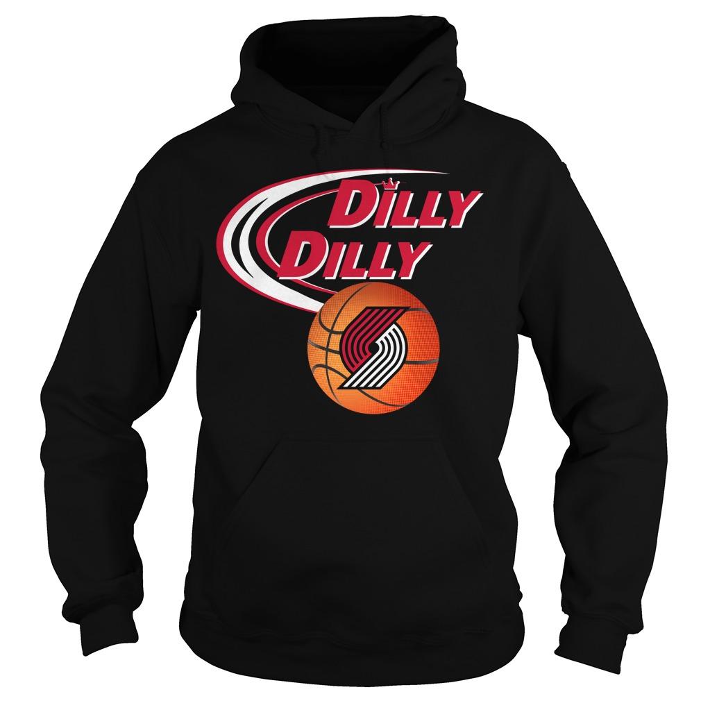 Dilly Dilly Portland Trail Blazers Nba Basketball Hoodie