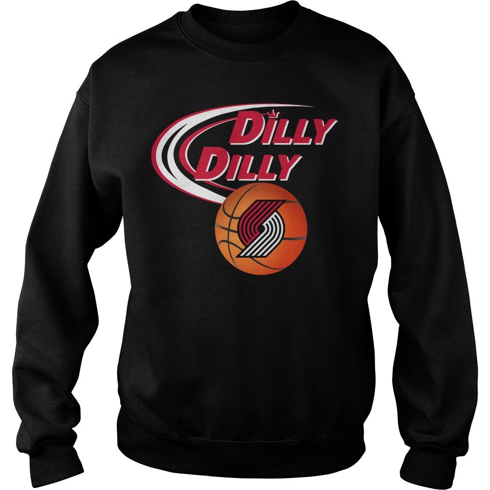 Dilly Dilly Portland Trail Blazers Nba Basketball Sweater