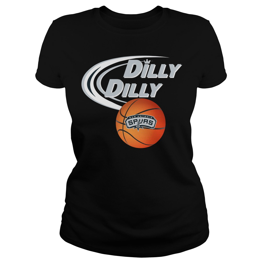 Dilly Dilly San Antonio Spurs Nba Basketball Ladies Tee