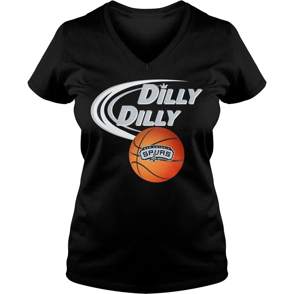Dilly Dilly San Antonio Spurs Nba Basketball V Neck T Shirt