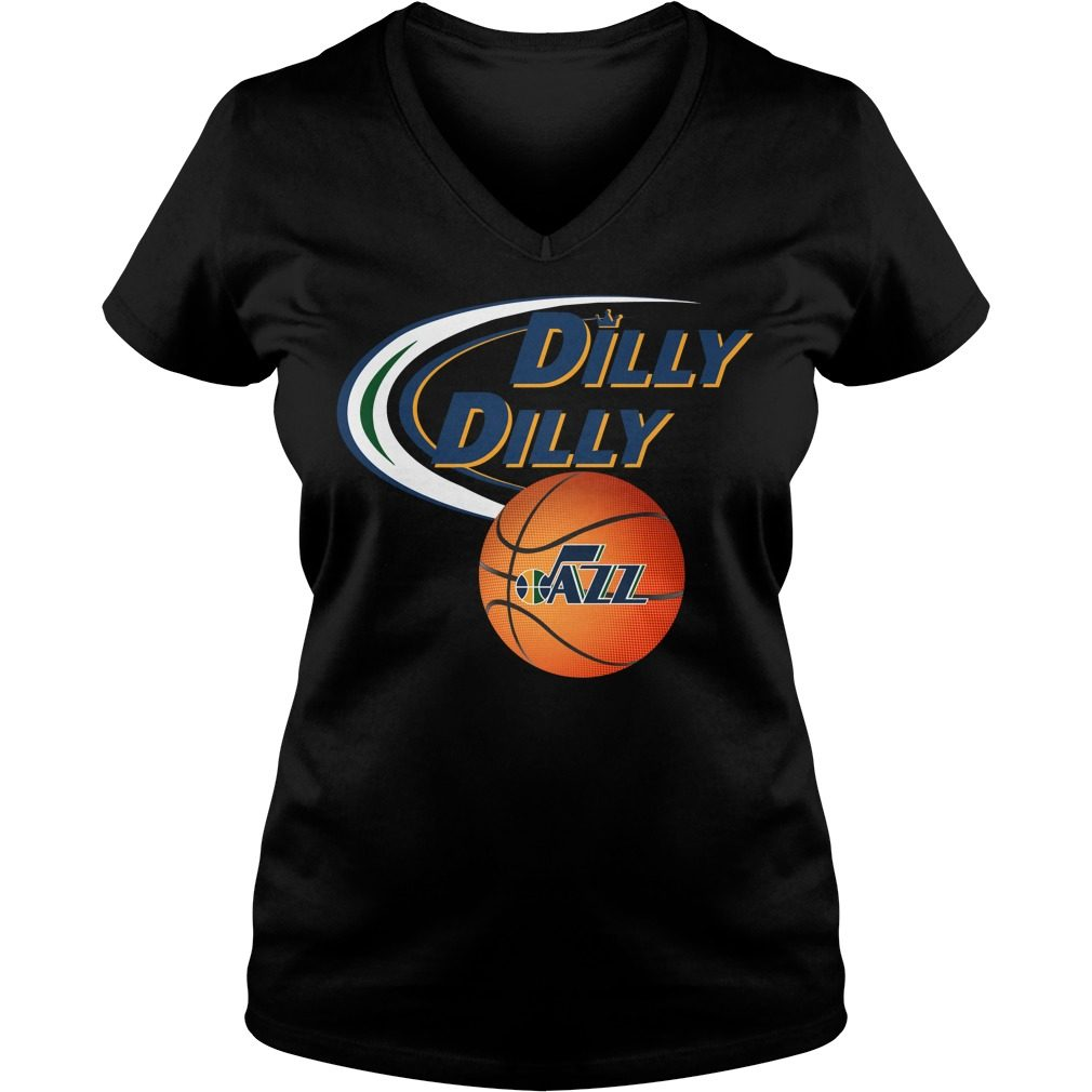 Dilly Dilly Utah Jazz Nba Basketball V Neck T Shirt