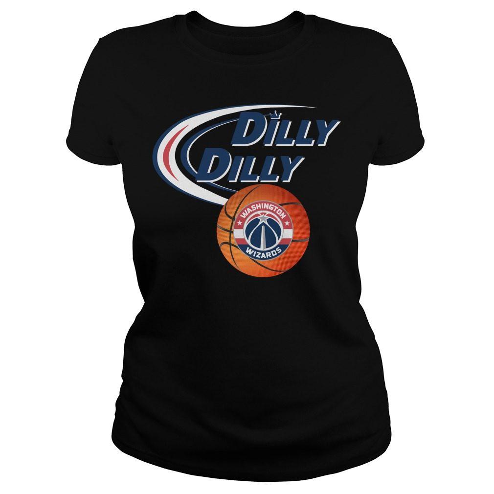 Dilly Dilly Washington Wizards Nba Basketball Ladies Tee