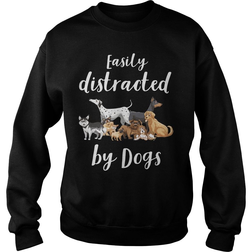 Easily Distracted Dogs Sweater