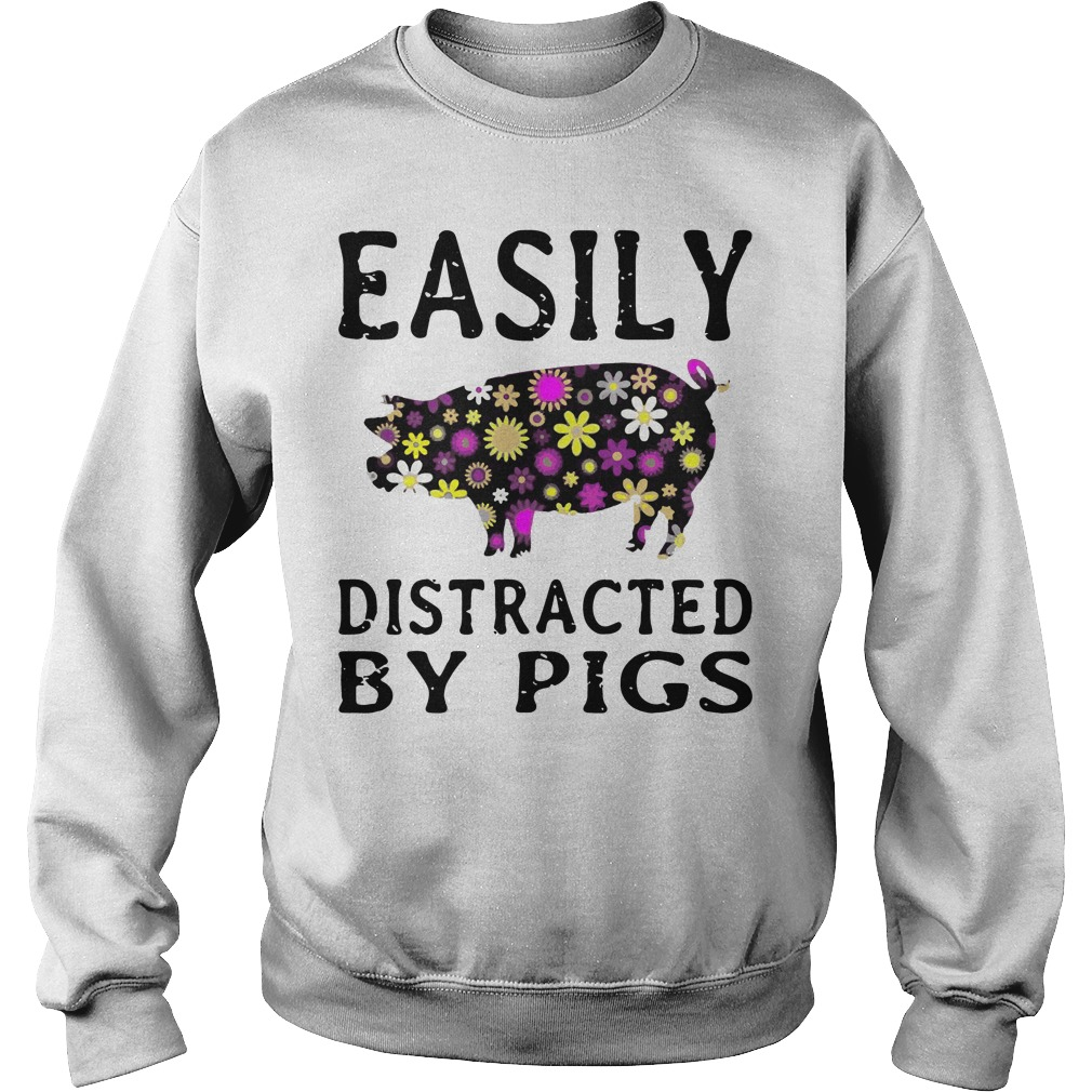 Easily Distracted Pigs Sweater