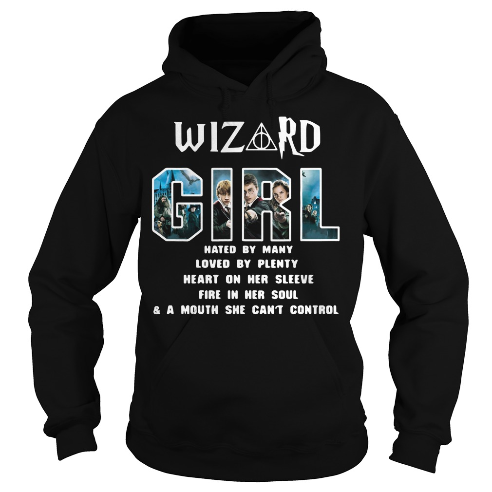 Harry Potter Wizard Girl Hated By Many Loved By Plenty Hoodie