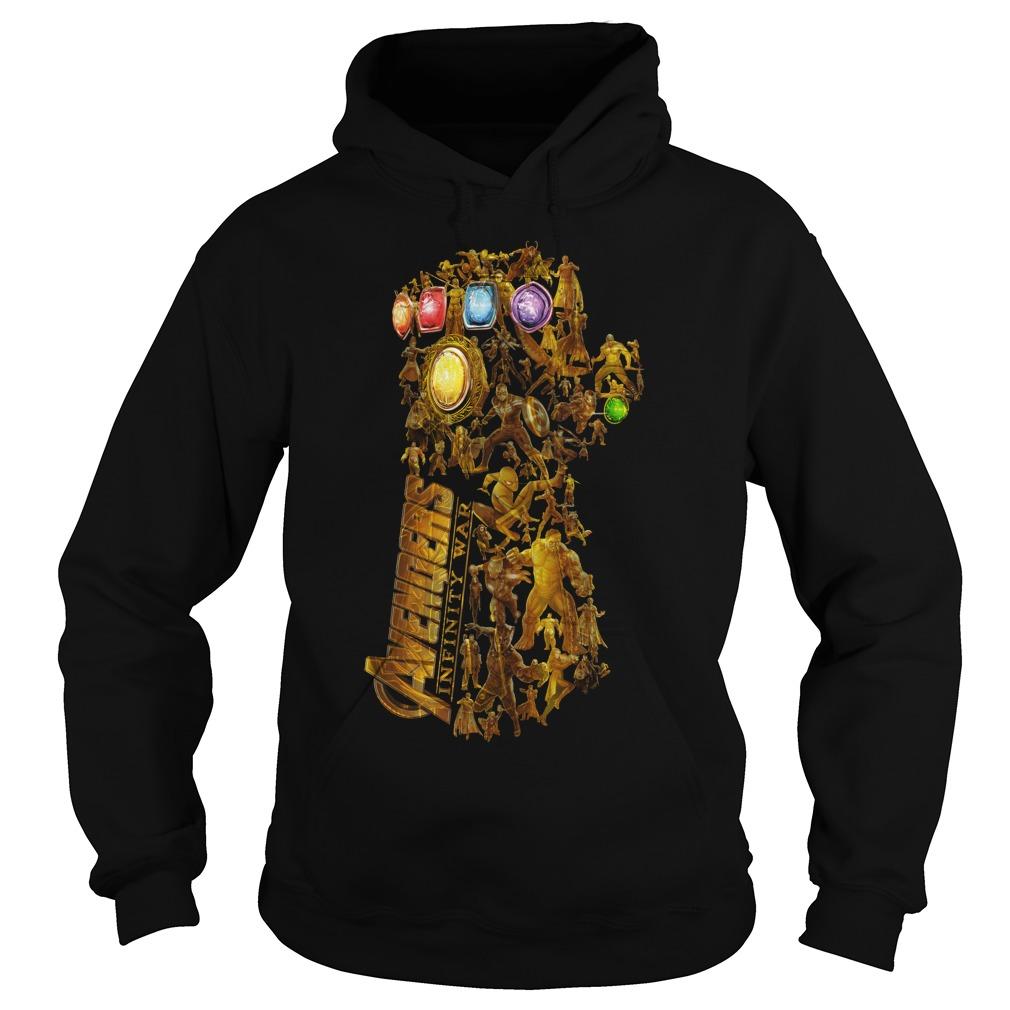 Hero Marvel Avengers Infinity Gauntlet Hoodie