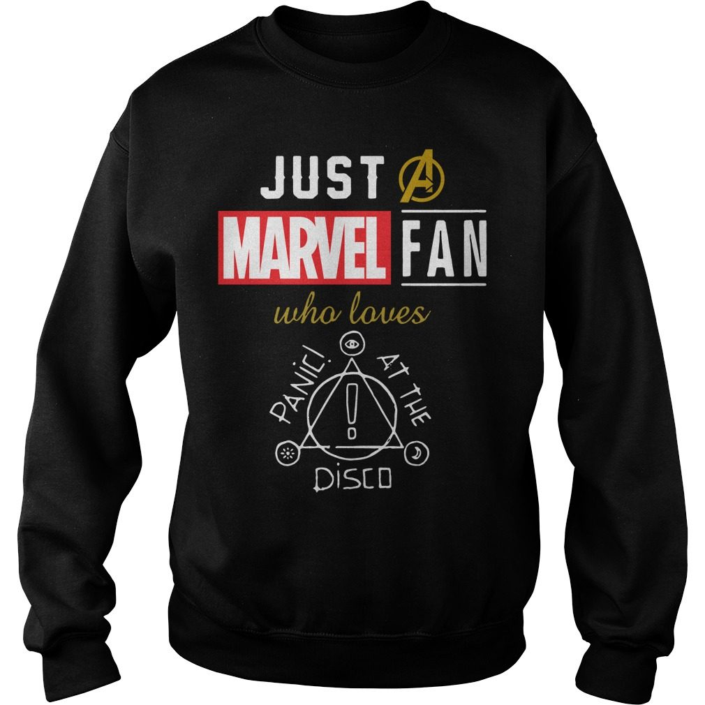 Just Marvel Fan Loves Panic Disco Sweater