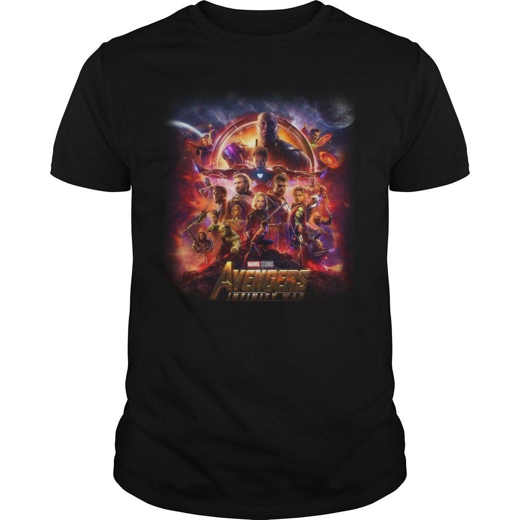 Marvel Studios Avengers Infinity War Guys Shirt