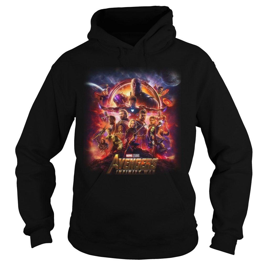 Marvel Studios Avengers Infinity War Hoodie