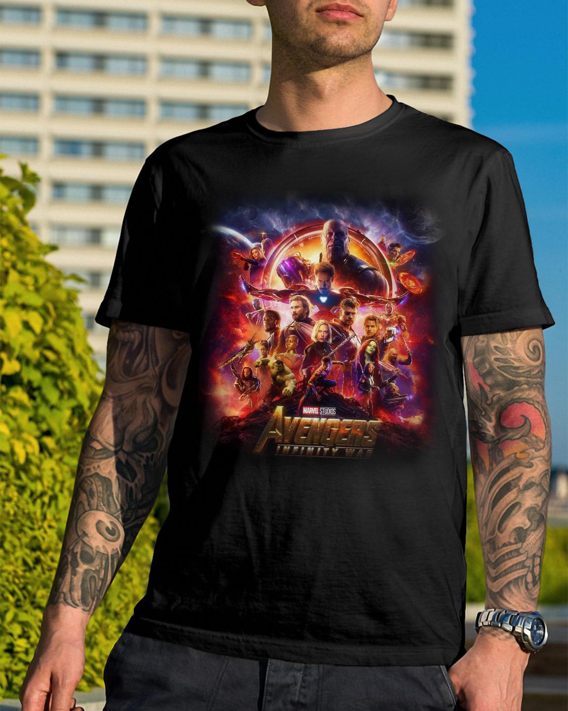 Marvel Studios Avengers Infinity War Shirt