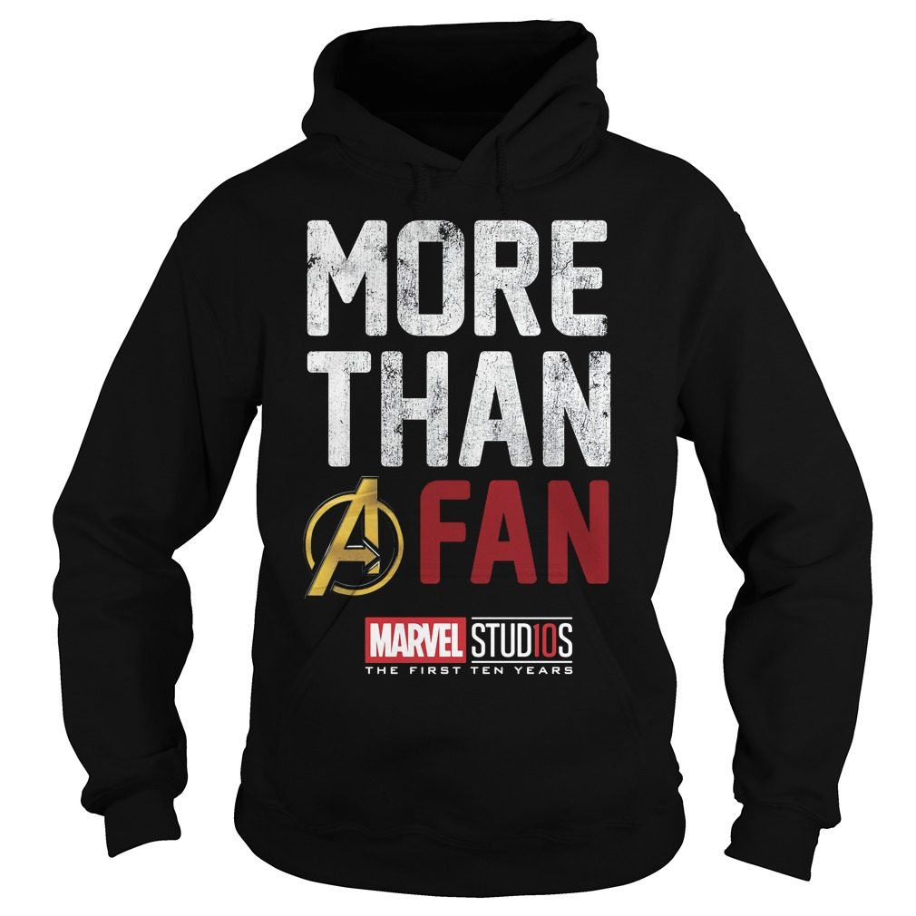 Marvel Studios Ten Years Fan Hoodie