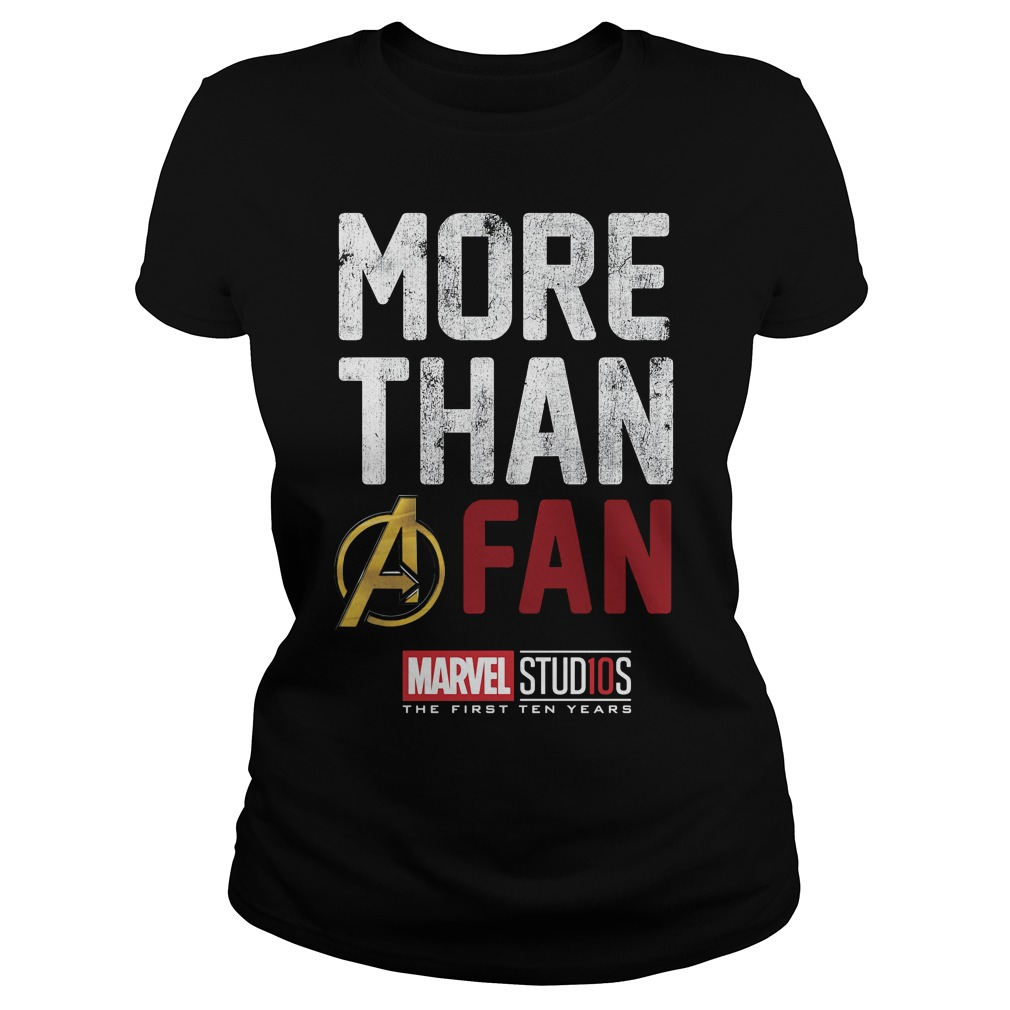 Marvel Studios Ten Years Fan Ladies Tee