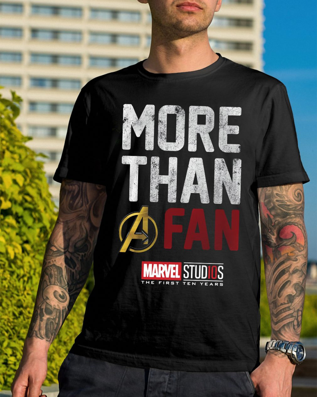 Marvel Studios Ten Years Fan Shirt
