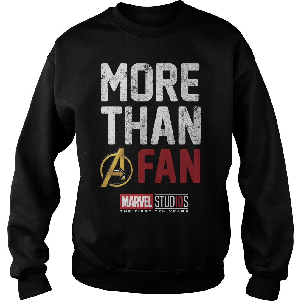 Marvel Studios Ten Years Fan Sweater