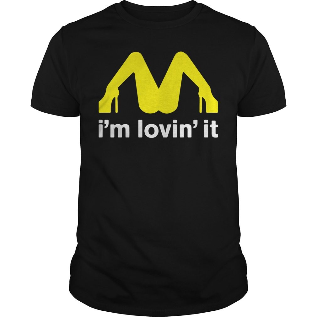 Mcdonalds Im Lovin Guys Shirt