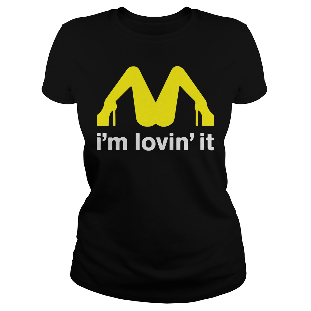 Mcdonalds Im Lovin Ladies Tee