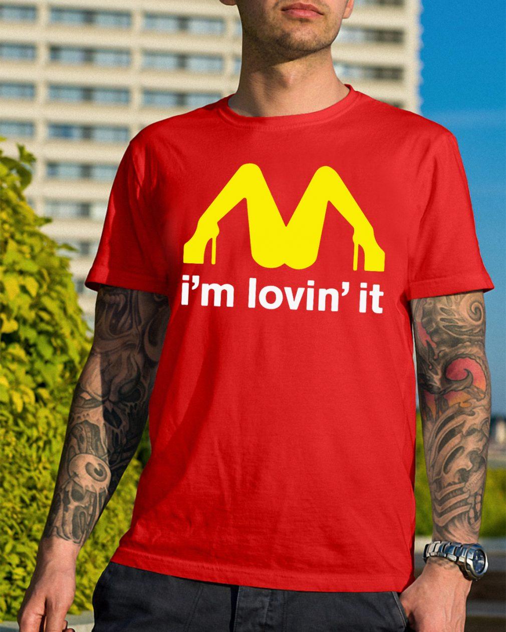 Mcdonalds Im Lovin Shirt