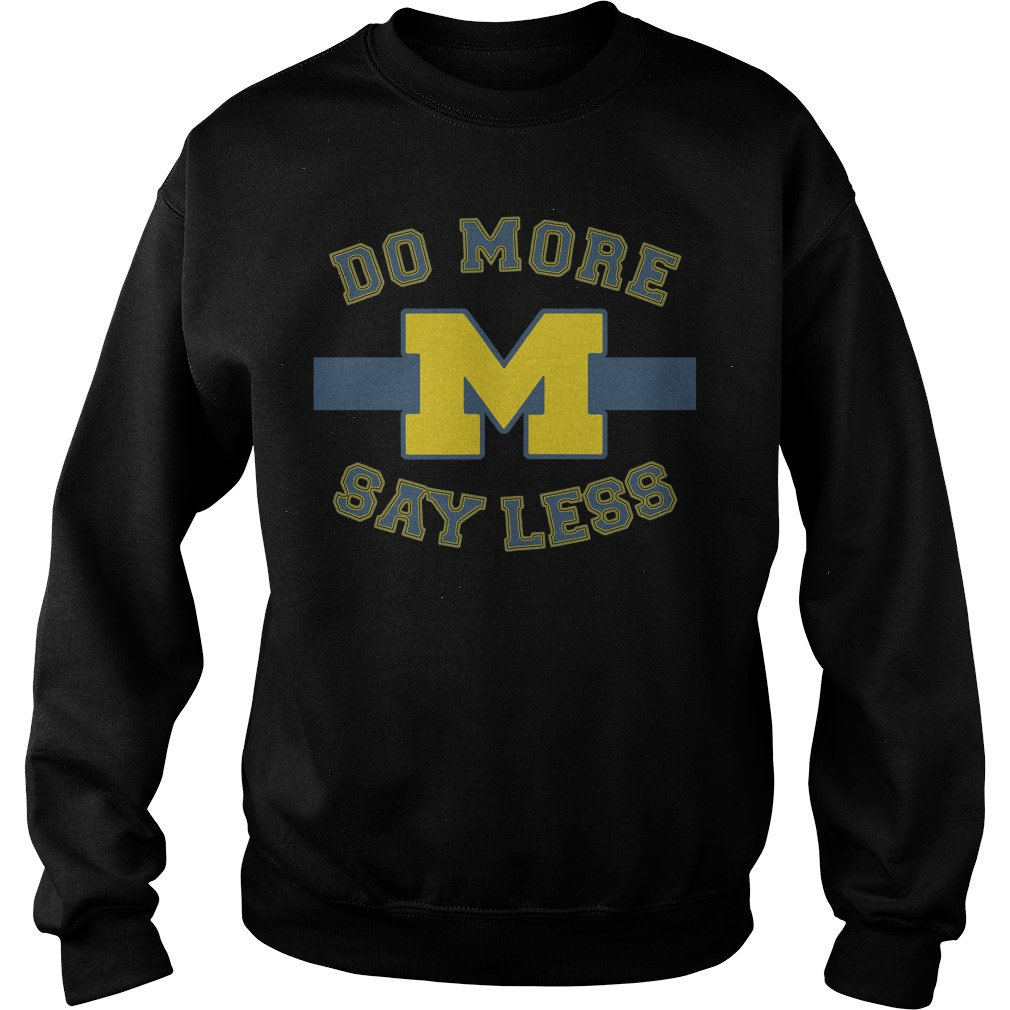 Michigan Say Less Sweater