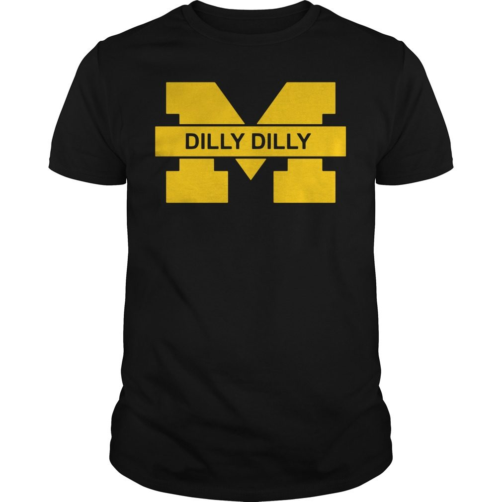 Michigan Wolverines Dilly Dilly Goblue Shirt
