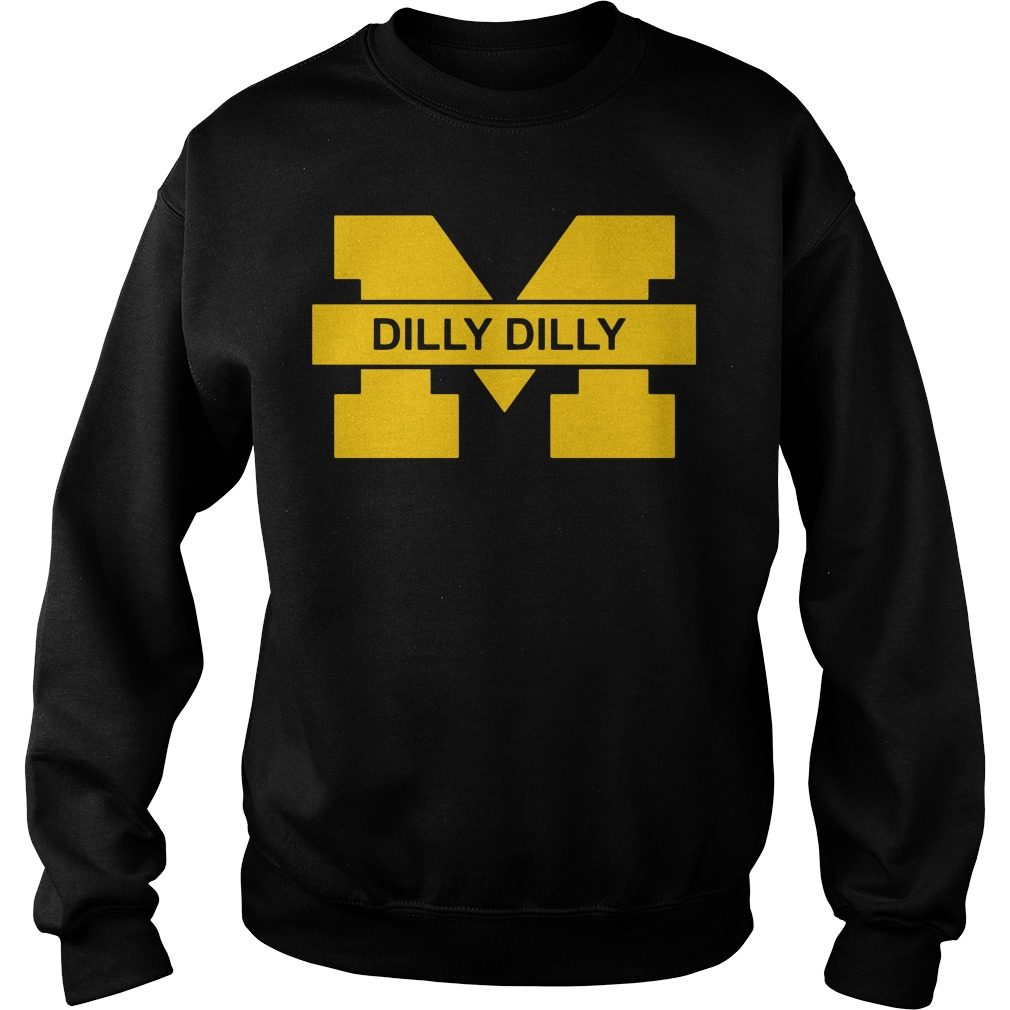 Michigan Wolverines Dilly Dilly Goblue Sweater