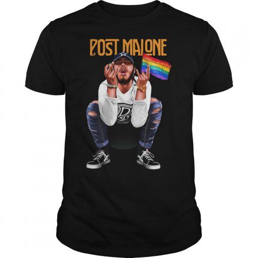 Post Malone Lgbt Shirt