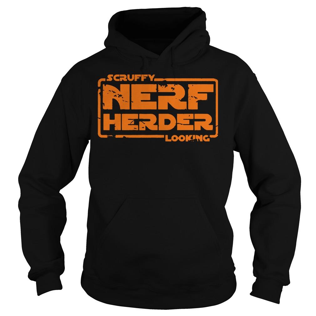 Scruffy Nerf Herder Looking Hoodie