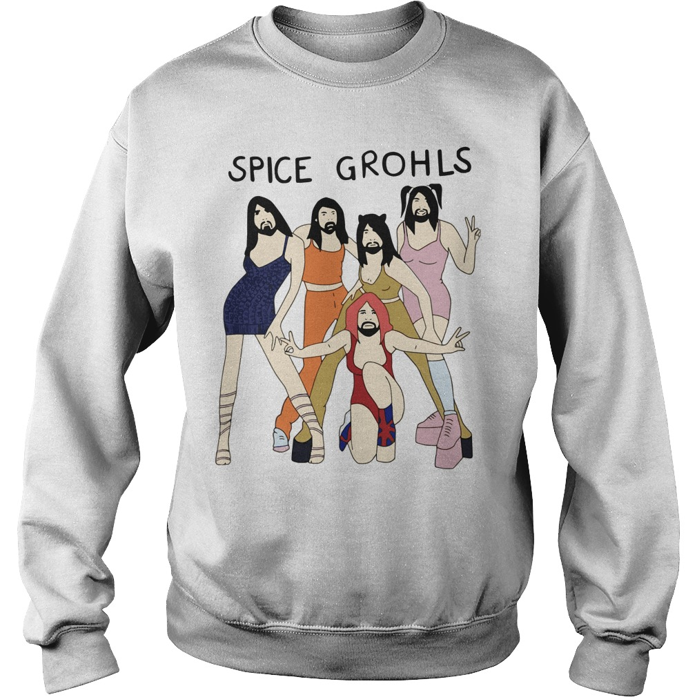 Spice Grohls Girls Dave Music Funny Parody Sweater