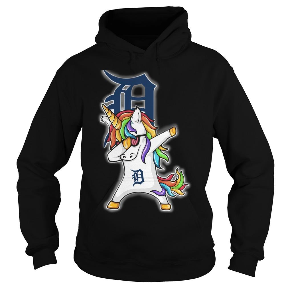Unicorn Dabbing Detroit Tigers Hoodie