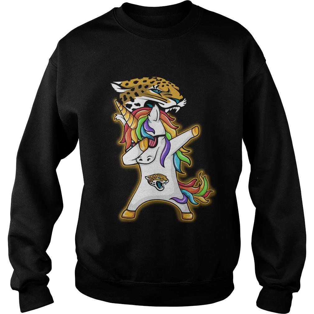 Unicorn Dabbing Jacksonville Jaguars Sweater