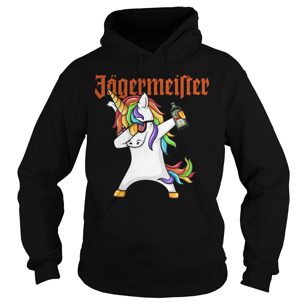 Unicorn Dabbing Jagermeister Hoodie