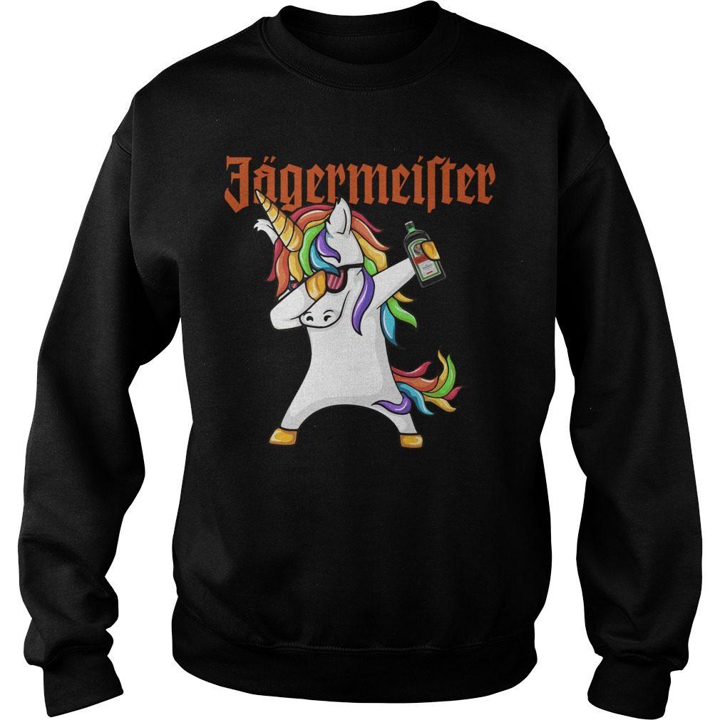 Unicorn Dabbing Jagermeister Sweater
