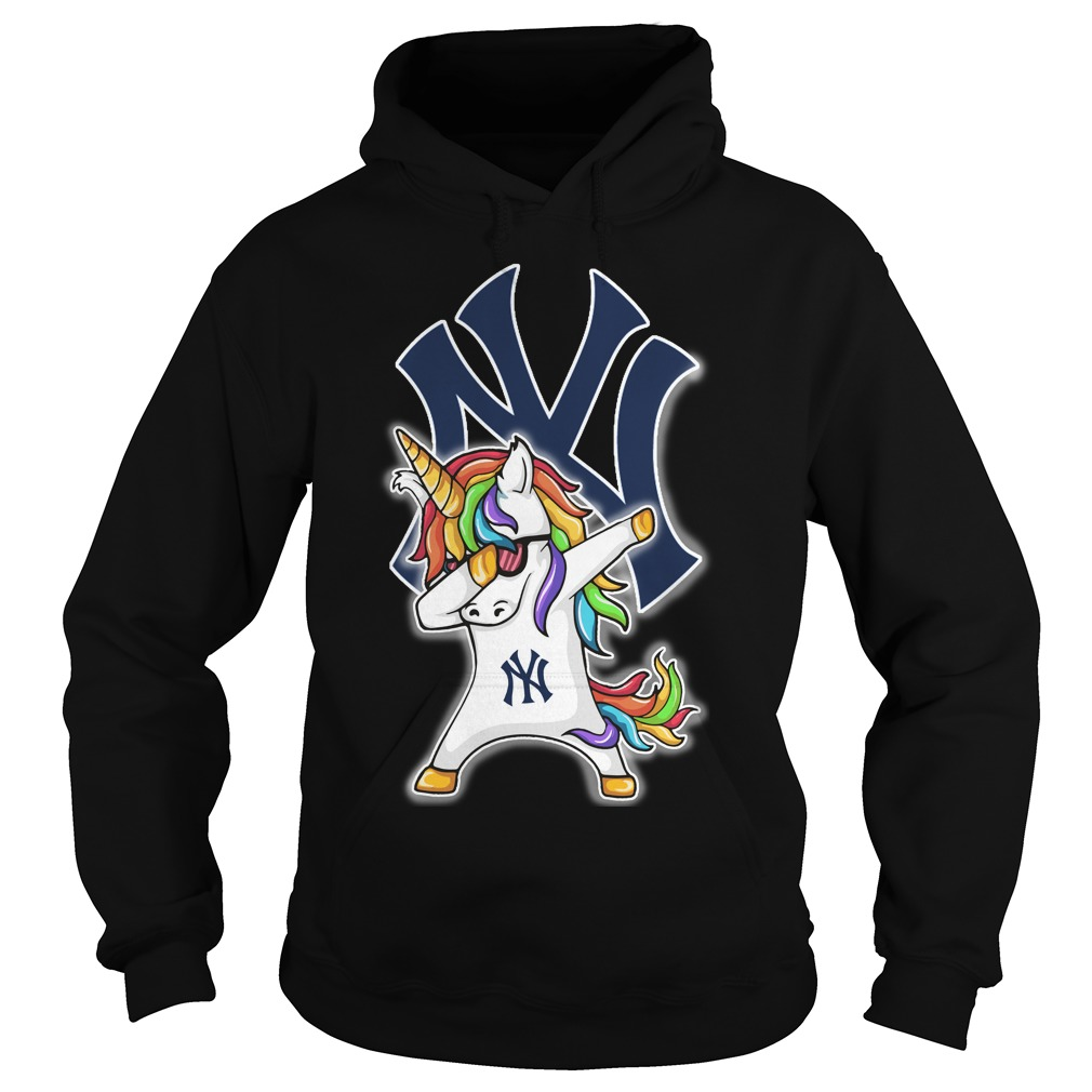 Unicorn Dabbing New York Yankees Hoodie